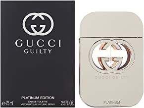 Gucci Guilty Platinum Edition for Women 2.5 oz Eau de Toilette Spray