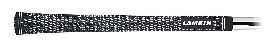 市場優雅なファンドラムキン グリップ CROSSLINE RUBBER 600 Round クロスライン?ラバー ブラック/ホワイト 101302