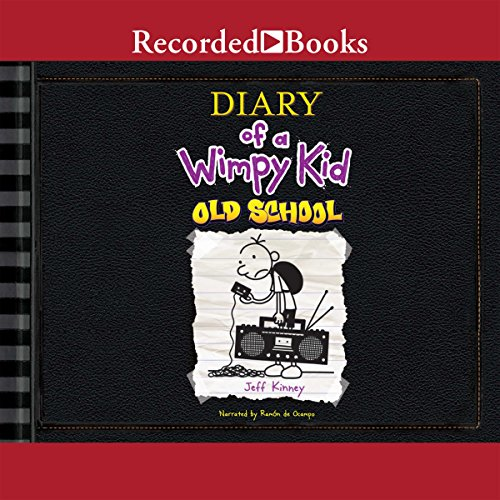 Diary of a Wimpy Kid: Old School audiobook cover art