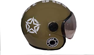 GTB HELMET STAR TYPE HELMET-ISI MARK-GREEN