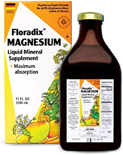 floradix magnesium mineral drink