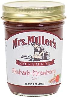 Mrs. Miller's Homemade Rhubarb-Strawberry Jam