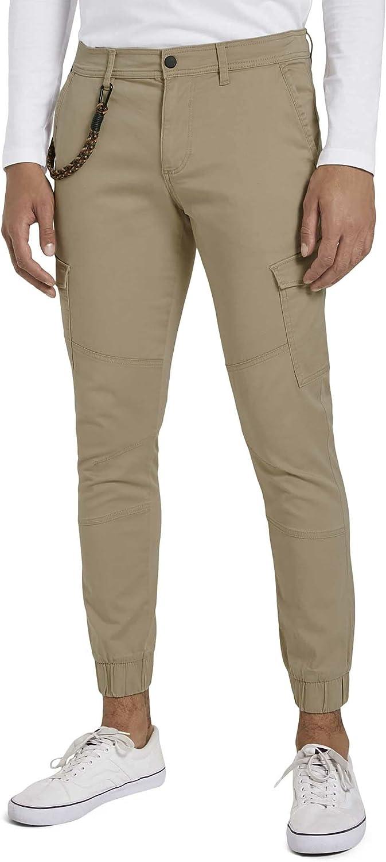 TOM TAILOR Denim Cargo Pantaln para Hombre