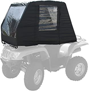 Black Widow 62110 - Toldo para Cabina ATV, Color Negro