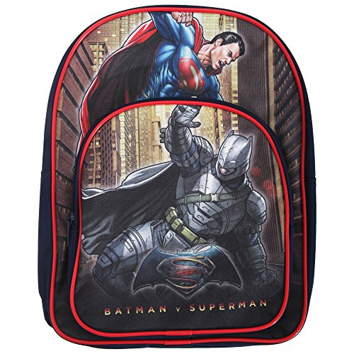 DC Comics Batman V Superman Arch Children'S Backpack, 31 cm, 9 Liters, Dark Blue