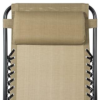 ارخص مكان يبيع Best Choice Products Set of 2 Adjustable Zero Gravity Lounge Chair Recliners for Patio, Pool w/Cup Holders - Beige