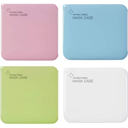 3 Colors Share Packs Mask Holder Clips Reusable Mask Foldable Organizer Hygienic face Mask Storage Case 30pcs Portable Mask Keeper