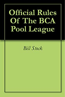 Official Rules Of The BCA Pool League