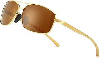 عینک آفتابی چند قطبی مستطیلی سبک SUNGAIT 100٪ محافظت در برابر اشعه ماوراء بنفش