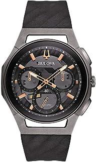 Bulova Orologio Cronografo Quarzo Uomo con Cinturino in Gomma 98A162