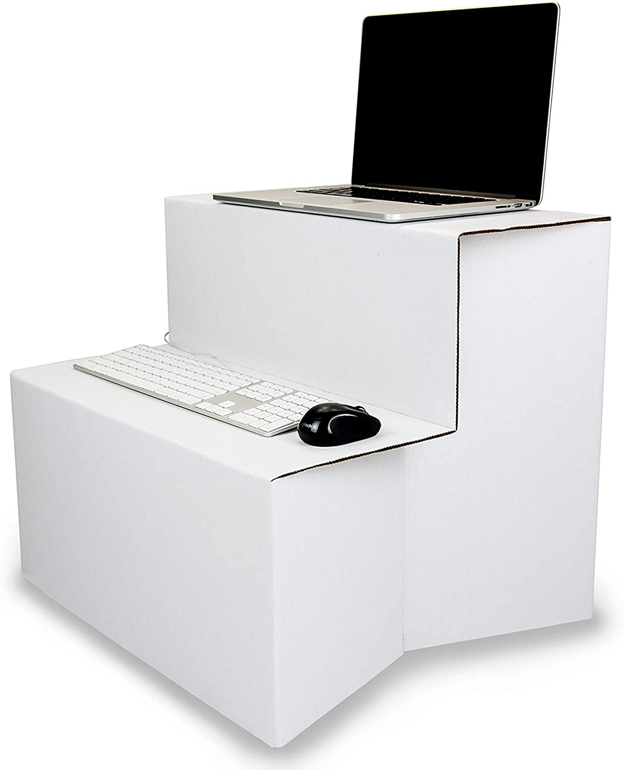 Portable Fold-Flat Standing Desk Congreener & Sit Stand Workstation by Ghostand