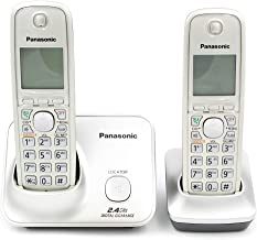 Panasonic KX-TG3712SXN 2-Handset 2.4 GHz Cordless Telephone, 220 Volts (Not for USA)