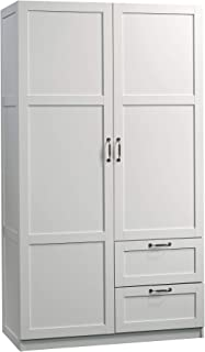 Sauder Storage Cabinet, White finish