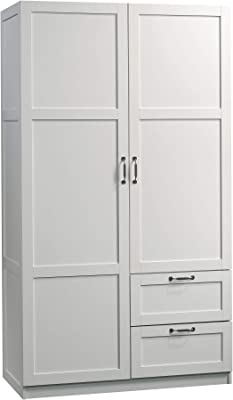 Amazon.com: Sauder Harbor View Craft and Sewing Armoire ...