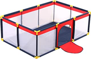 Baby Playpen, Extra Large Playard, Indoor & Outdoor Kids Activity Center, Sturdy Safety Play Yard with Super Soft Breathab...
