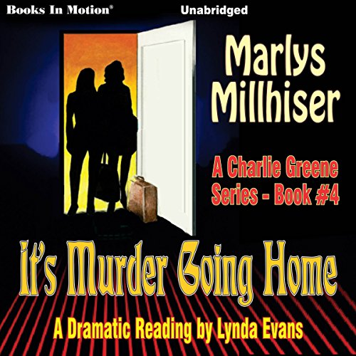It's Murder Going Home audiobook cover art