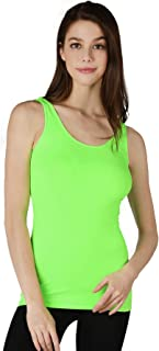 Best neon green tank top womens Reviews