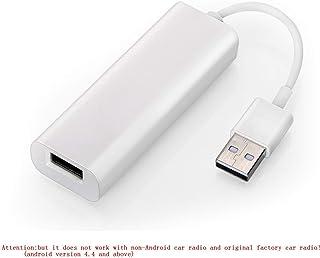 Carplay Dongle USB navegación de automóviles con Android Mini Carplay Box iOS Uso de Carplay en la conexión del reproductor multimedia para automóvil de Android a través de USB Control táctil y de voz