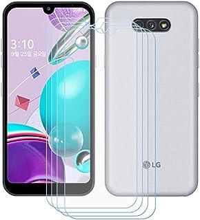 TTJ 4 stycken skottsäkert glas skyddsfolie för LG K31, 9H hårdhet härdat glas pansarglasfilm anti-rep/anti-fingeravtryck/a...