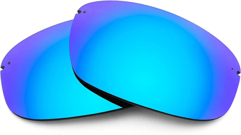 Revant Verres de Rechange pour Maui Jim Hookipa - Compatibles avec les Lunettes de Soleil Maui Jim Hookipa Bleu Glacier Mirrorshield - Non Polarisés