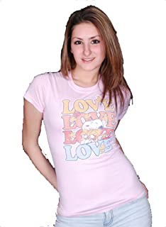 Girls Snoopy Love Tee Shirt