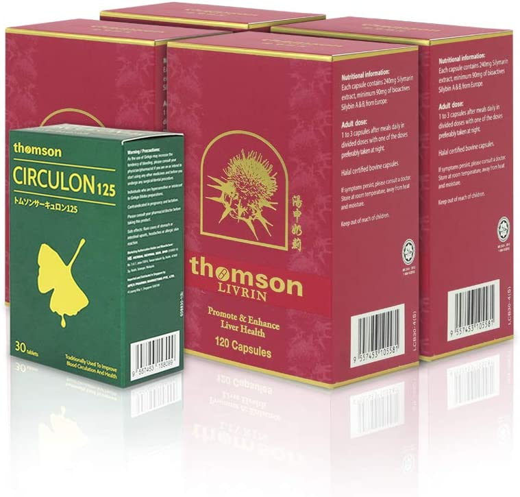 Livrin Milk Thistle Max 79% OFF 4 Bottles x Total Silymar 80% 120's Active Large discharge sale