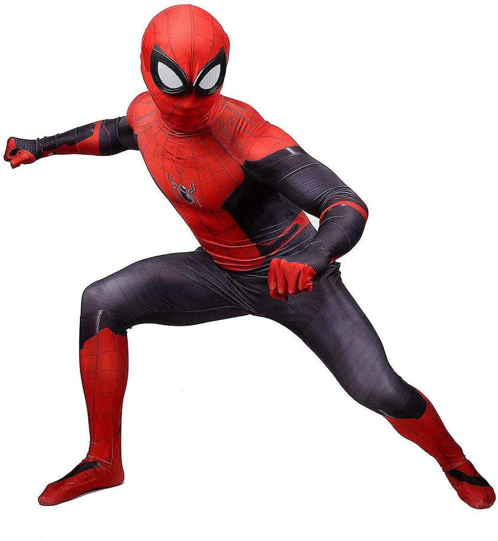 minoristas en línea MMwang Spiderman Disfraz Adulto Traje Niño, Spiderman Costume Costume Costume Kids Adult - Hjavascript  Alloween Juego 3D Print CosJugar Clothing,Adult-L  marca famosa