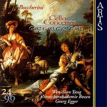 Luigi Boccherini: 4 Cello Concertos