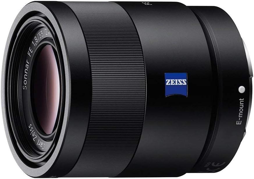 SONY 55mm F1.8 Sonnar T FE ZA Full Frame Lens - Fixed (Renewed)