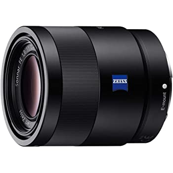Sony 55mm F1.8 Sonnar T FE ZA Full Frame Lens - Fixed (Renewed)