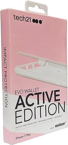 lowest Tech21 popular Evo Wallet Active Edition Case outlet online sale iPhone 7 Plus Pink online