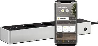 Eve Energy Strip - Slimme stekkerdoos met drie aansluitingen en energiemeter, uitgerust met beveiliging tegen overstroom, ...