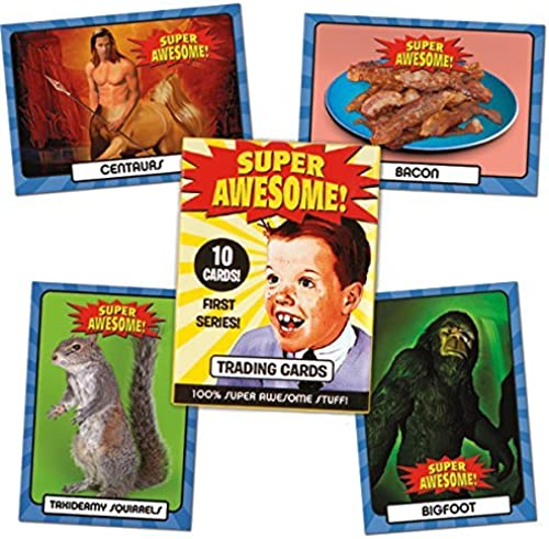 Super Awesome Trading Cards by Accoutrements
