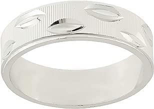 خاتم باند فضة للنساء من اورورا