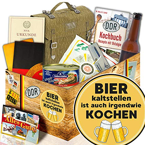 Bier kalt stellen ist.. / Ossi Paket / Männer Geschenke / NVA Set