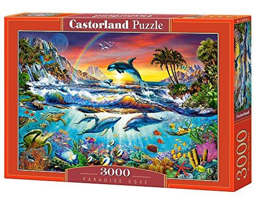 Castorland - C-300396-2 - Puzzle - Crique au Paradis - 3000 Pièces