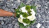 Blumenstrauß Nr.16 - Strauß künstlich - Seidenblumen Liegestrauß Blumen Brautstrauß