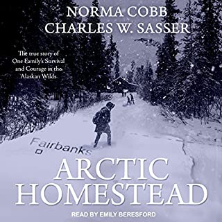 Arctic Homestead audiobook cover art