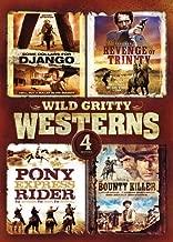 4-Movie Wild Gritty Westerns: The Bounty Killer / The Revenge of Trinity / Some Dollars for Django / Pony Express Rider