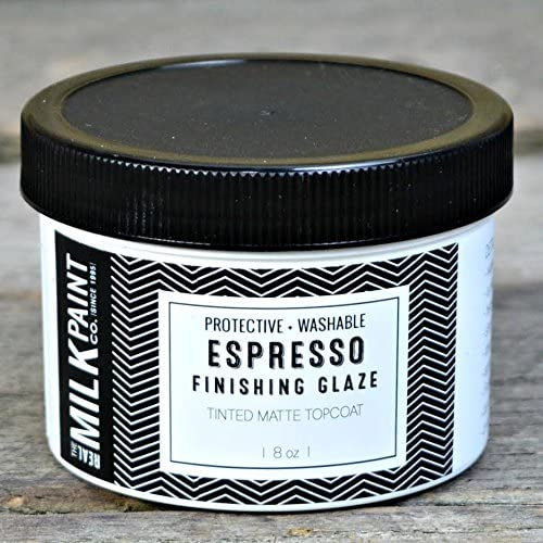 Superlatite excellence Real Milk Paint Espresso -8 oz. Glazes Finishing