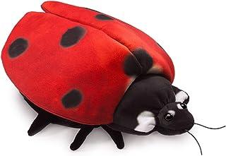 Folkmanis Ladybug Life Cycle Reversible Hand Puppet, Red, Black, Gold