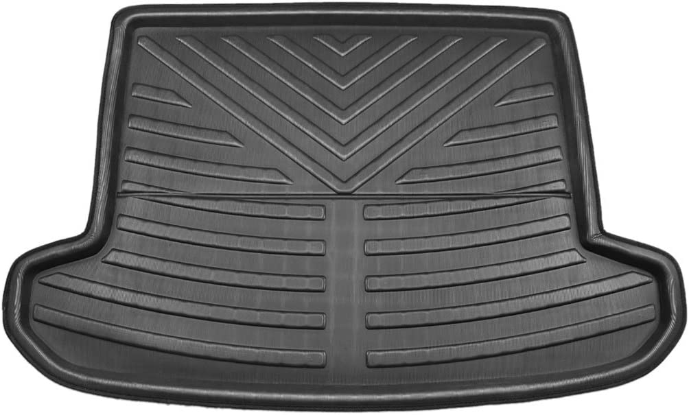 X store AUTOHAUX Black Rear Trunk Boot Floor service Tray Cargo for Mat Liner