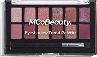 MCoBeauty Eyeshadow Trend Palette   12 Rich, Highly Pigmented Eye Shadow Shades
