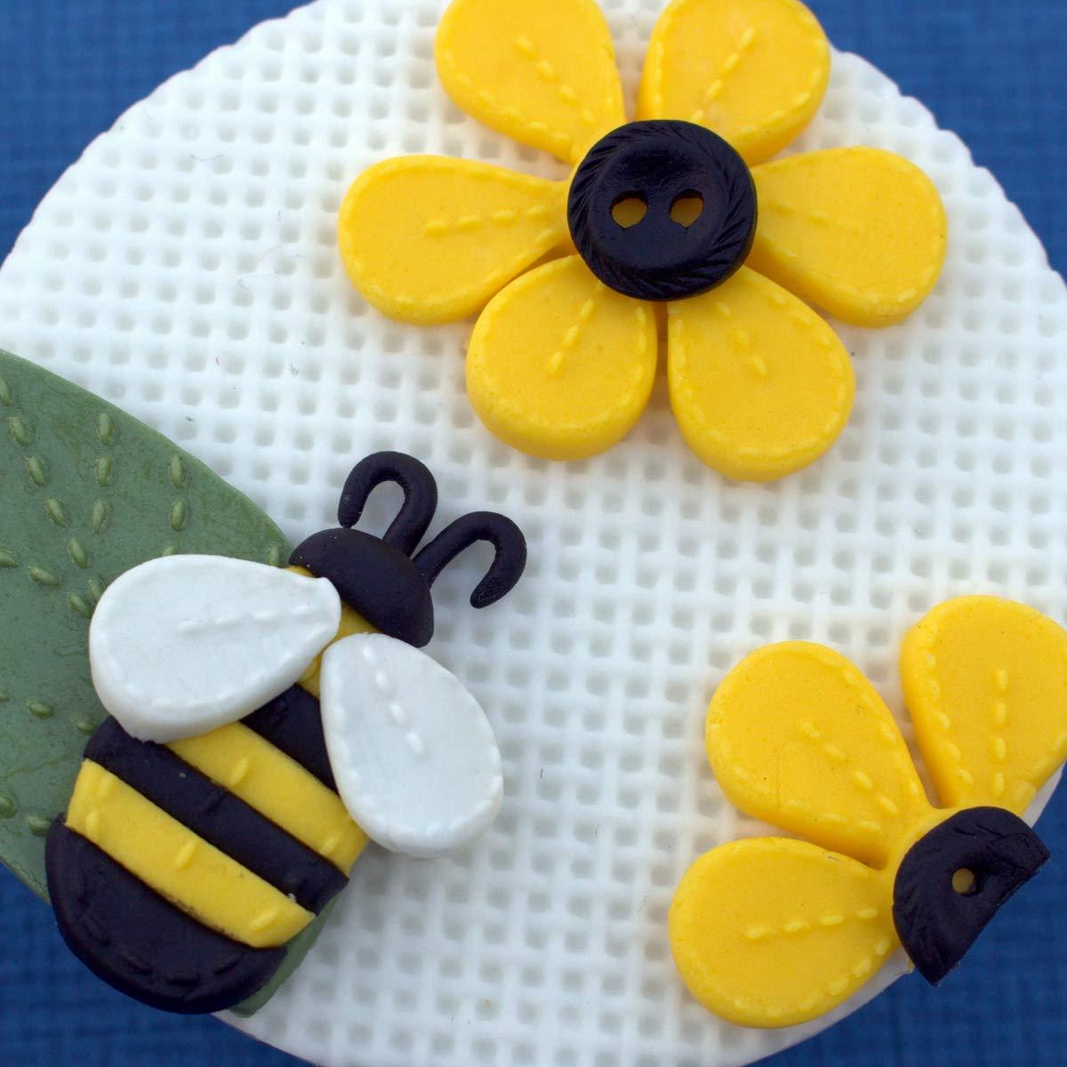 Katy Sue Designs DM0042 - Molde de silicona para decoración de tartas, manualidades, cupcakes, azúcar, galletas, caramelos, tarjetas y arcilla, aprobado para alimentos, fabricado en el Reino Unido: Amazon.es: Hogar