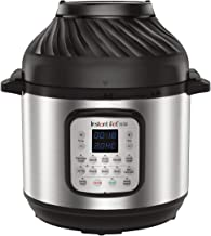 Instant Pot Duo Crisp + Air Fryer, Multi-Use Pressure Cooker and Air Fryer, Stainless Steel, 8L