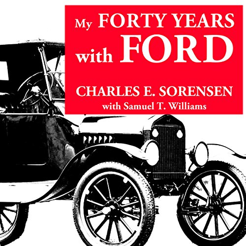 My Forty Years with Ford audiobook cover art