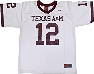 NIKE Texas A&M Aggies (University of) Kids/Youth College Football Jersey Size M 10-12 White