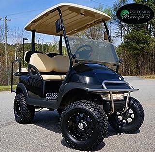 "Club Car Precedent Golf Cart 6"" Spindle Lift Kit + 12"" Steeleng KRAKEN Wheels and 23"" All Terrain Tires (GOLF CART NOT INCLUDED)"