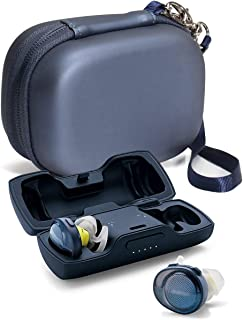 Featured Protective Case for Bose SoundSport Free Truely Wireless Sport Headphones Charger Box, Mesh Pocket for Cable and ...