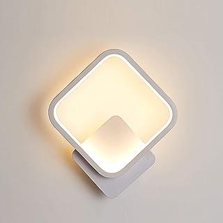 Yafido Applique Murale Interieur LED Carré Lampe Murale 13W Blanc Chaud 3000K Luminaire Mural Moderne pour Couloir Chambre...